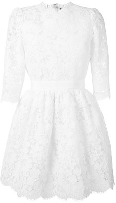 Alexander McQueen lace mini dress $3,685 thestylecure.com