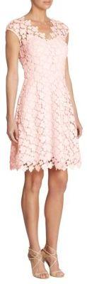 Shoshanna Floral Lace Dress $405 thestylecure.com