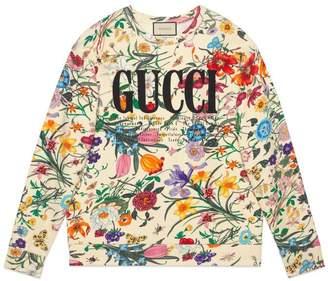 Gucci Oversize sweatshirt with print