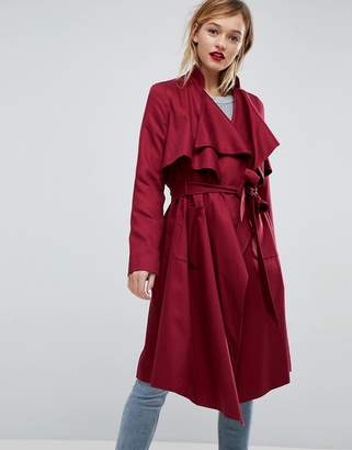 Asos DESIGN Waterfall Trench