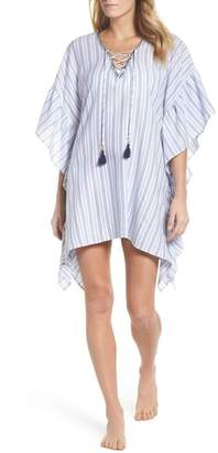 Tommy Bahama Ticking Stripe Cover-Up Tunic