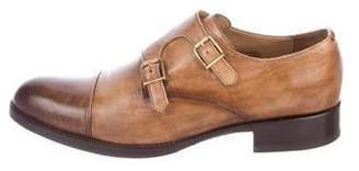 Harris Firenze Leather Double Monk Strap Shoes