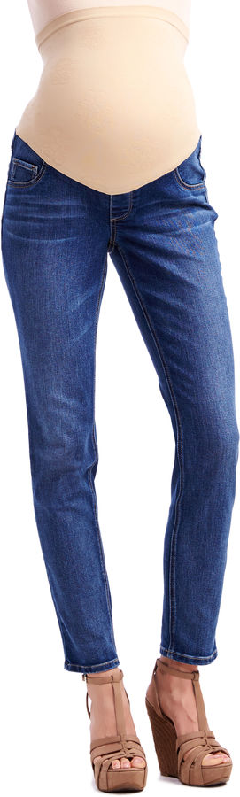 Motherhood Jessica Simpson Petite Secret Fit Belly Jegging Maternity Jeans