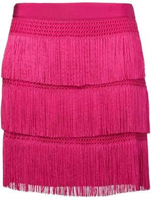 Alberta Ferretti flapper fringe skirt