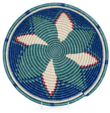 Bed Bath & Beyond Lake Nile Hope Bowl 12-Inch Round Woven Wall Art