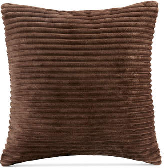 "Parker Premier Comfort Reversible Corduroy Plush 20"" Square Decorative Pillow"