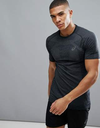 Asics Running Seamless Compression T-Shirt In Black 134602-0904