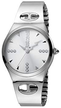 5fdc5d606d7 at Amazon.co.uk · Just Cavalli Womens Analogue Classic Quartz Watch with  Stainless Steel Strap JC1L027M0015