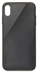 Native Union Leather Card iPhone XS Max Case