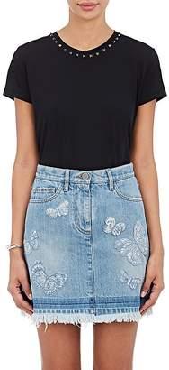 Valentino Women's Studded Cotton T-Shirt