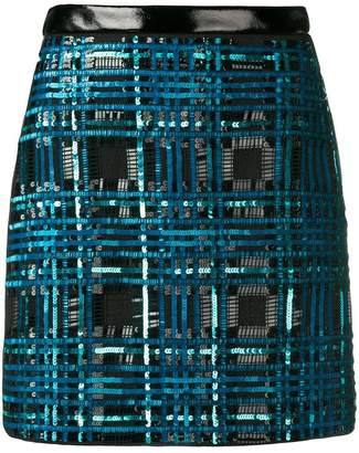 Elisabetta Franchi sequin party skirt