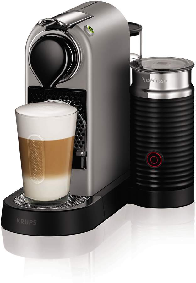 Nespresso Coffee Maker Manual : Krups Silver Citiz&Milk Nespresso Machine 2016 Design - ShopStyle.co.uk Home