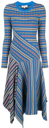 Opening Ceremony patterned sweater dress