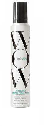 Color WOW Brass Banned Mousse For Dark Hair.