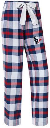Concepts Sport Women's Houston Texans Headway Flannel Pajama Pants