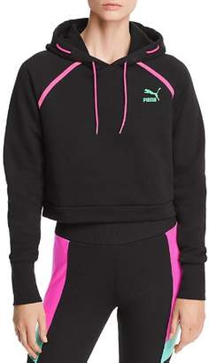 Puma Reflect Cropped Hooded Sweatshirt