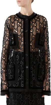 Gucci GG Macrame Jacket