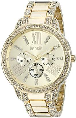Kensie Women's Quartz Metal and Alloy Casual Watch