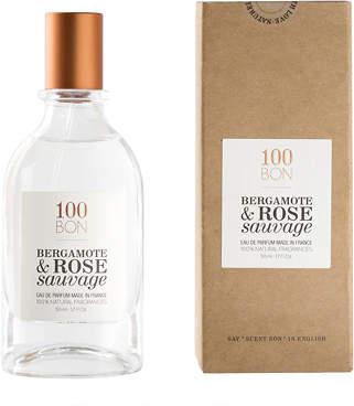 Sauvage 100bon 100BON Bergamote & Rose Eau de Cologne 50ml