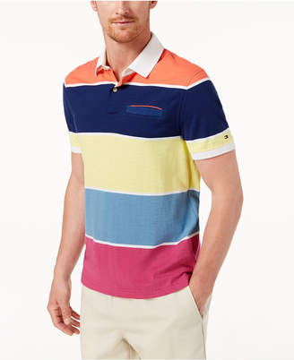 Tommy Hilfiger Men's Bodevan Striped Polo, Created for Macy's