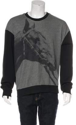 3.1 Phillip Lim Pixel Horse Sweatshirt