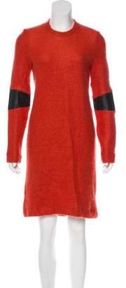 Markus Lupfer Sweater Mini Dress