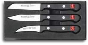 Wusthof 3-Piece Gourmet Paring Knife Set