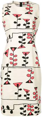 Marni printed sheath dress