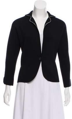Loro Piana Notch-Lapel Button-Up Jacket