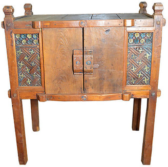 One Kings Lane Vintage Antique Indonesian Hand-Carved Cabinet - FEA Home