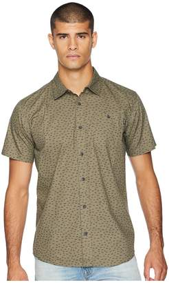 O'Neill Central Short Sleeve Woven Top Men's Clothing