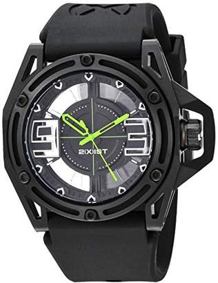 2xist 2(X) IST Men's 2X1-016 NYC Analog Display Analog Quartz Black Watch