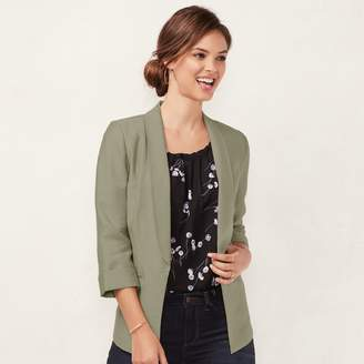 Lauren Conrad Women's Shawl Collar Blazer