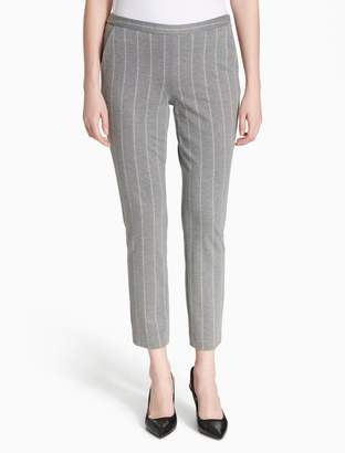 Calvin Klein striped suit pants