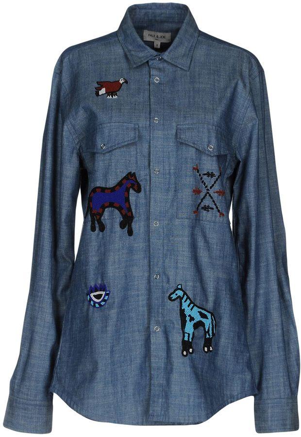 Paul & JoePAUL & JOE Denim shirts