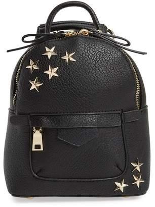 BP Mini Star Stud Faux Leather Backpack