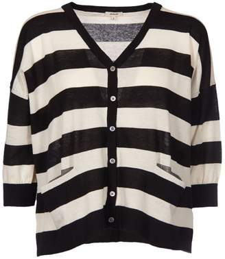Bellerose Striped Cardigan