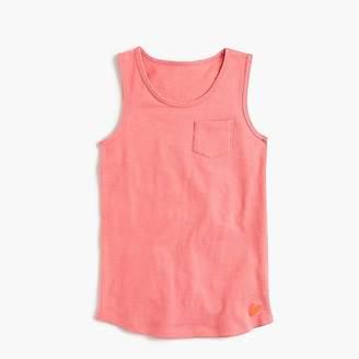 J.Crew Girls' pocket tank top