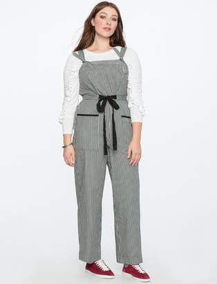Wideleg Jumpsuit with Patch Pockets