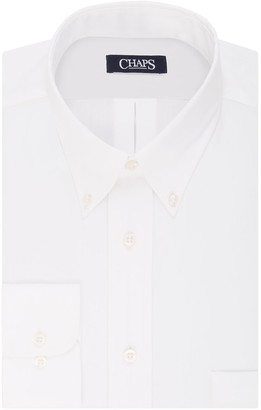 Chaps Big & Tall Regular Fit Non Iron Stretch Button-down Collar Dress Shirt