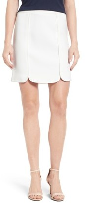 Women's Draper James Margaret Miniskirt $165 thestylecure.com