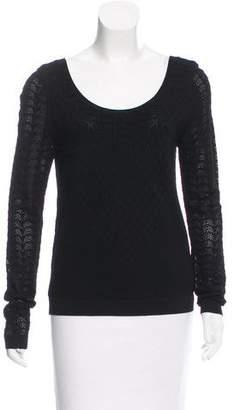 Temperley London Patterned Knit Sweater