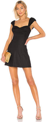 LPA Fit And Flare With Cap Puff Sleeve