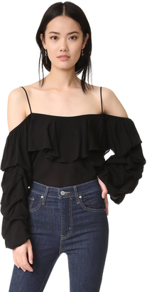 MISA Fiora Top $194 thestylecure.com
