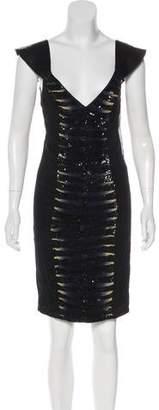 Just Cavalli Sequin Silk Dress