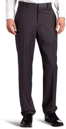 Perry Ellis Men's Solid herringbone Slim-Fit Pant