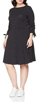 Womens Spot Jersey FF Party Dress Dorothy Perkins Curve YdXNLbe