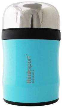 Thinkbaby Insulated Food Container with Spork, Light Blue