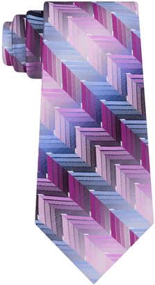 Van Heusen Men's Ombre Zigzag Silk Tie