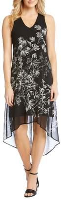Karen Kane Sketched Floral Dress